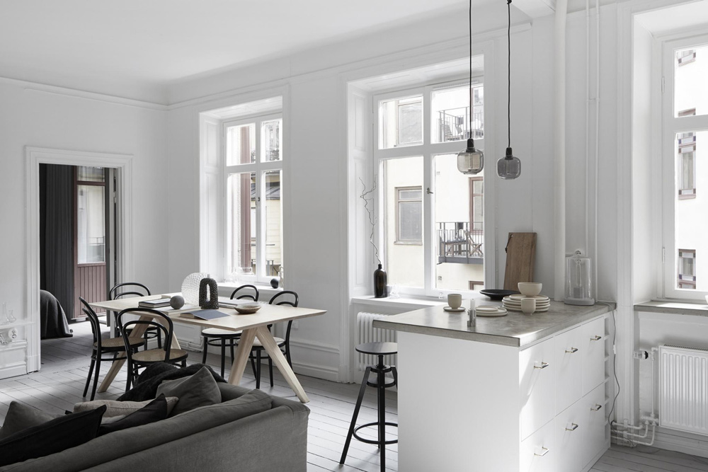 This Small Scandinavian Home is Packed with Style & This Small Scandinavian Home is Packed with Style - NordicDesign