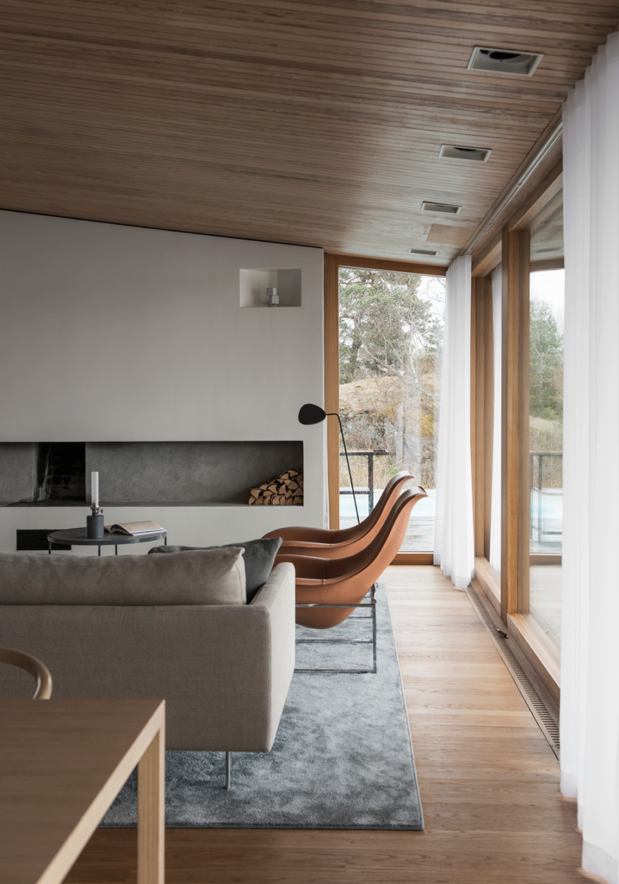 An Outdated 1960s Swedish Villa is Transformed Into a Spacious, Elegant and Luxurious Residence