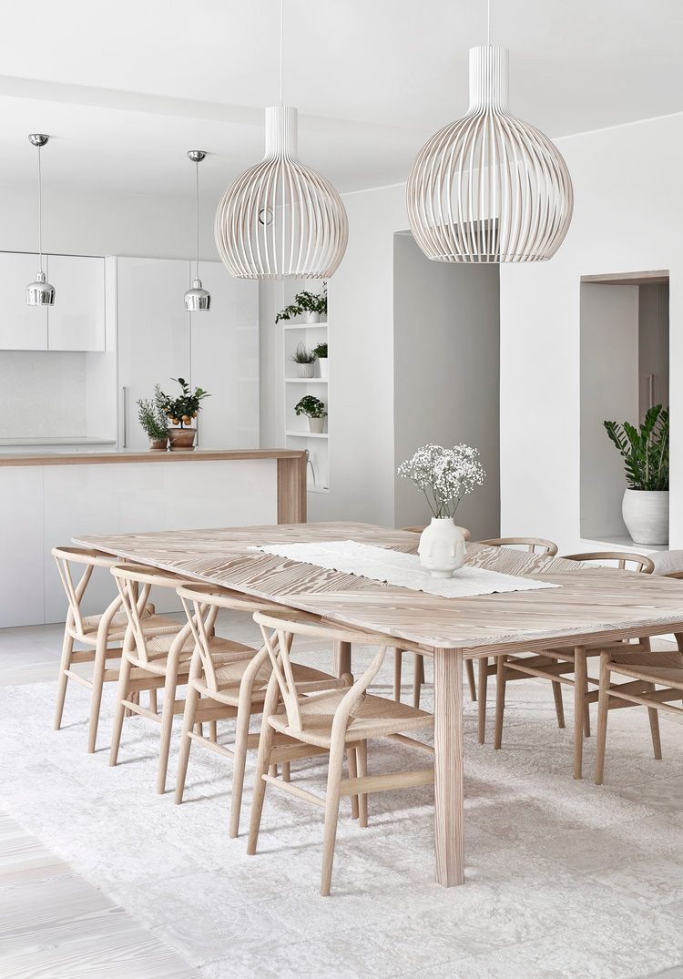 Peek Inside a Spacious and Serene Home in Finland With a Monochromatic Design