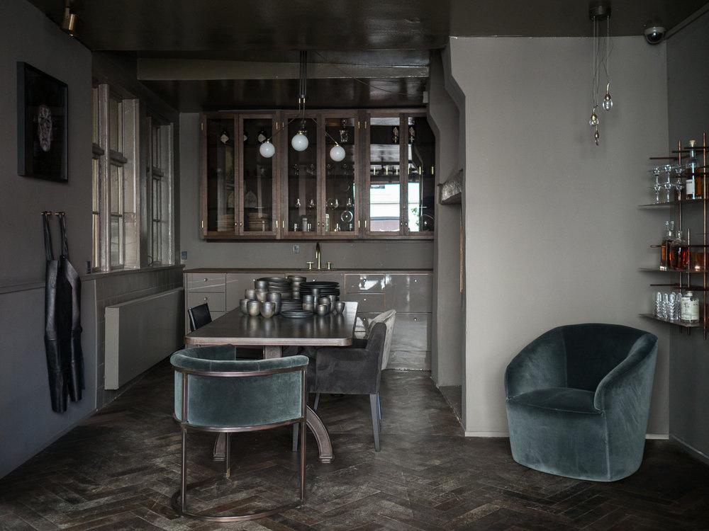 interior design copenhagen Dark and Moody Inspiration from Rue Verte, a Copenhagen Based High  interior design copenhagen