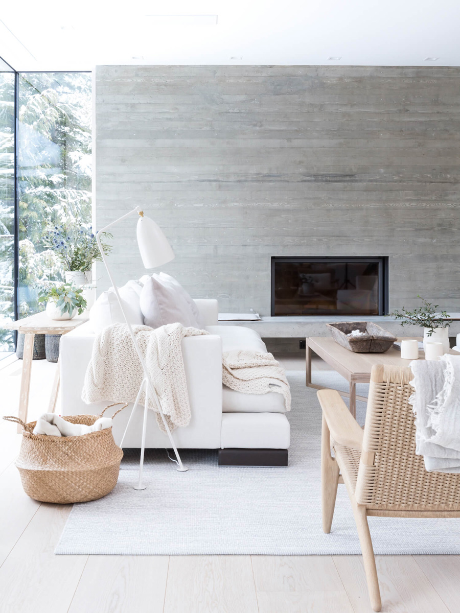 A Spacious, Light-Filled Mountain Retreat With Danish Influence and ...
