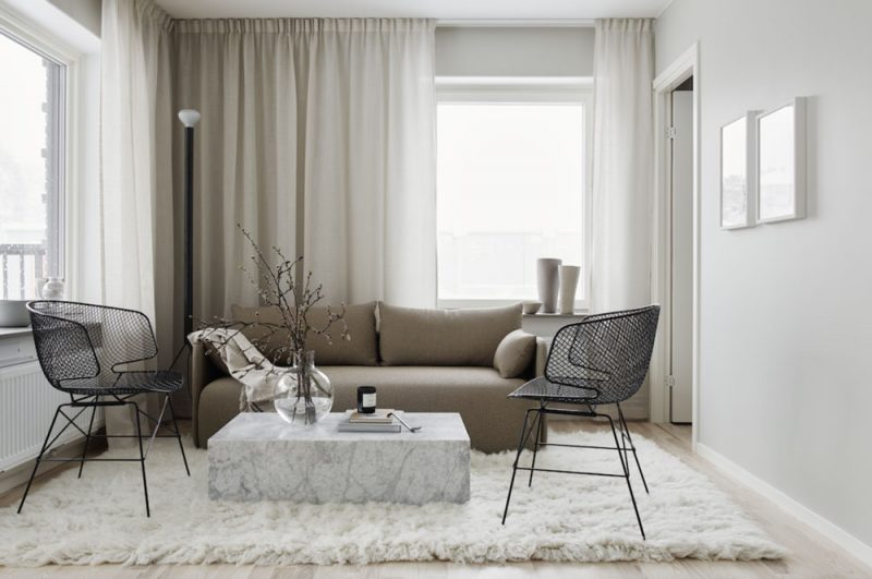 50 Shades of Greige: An Elegant Interior in a Perfect Tone-on-Tone Look