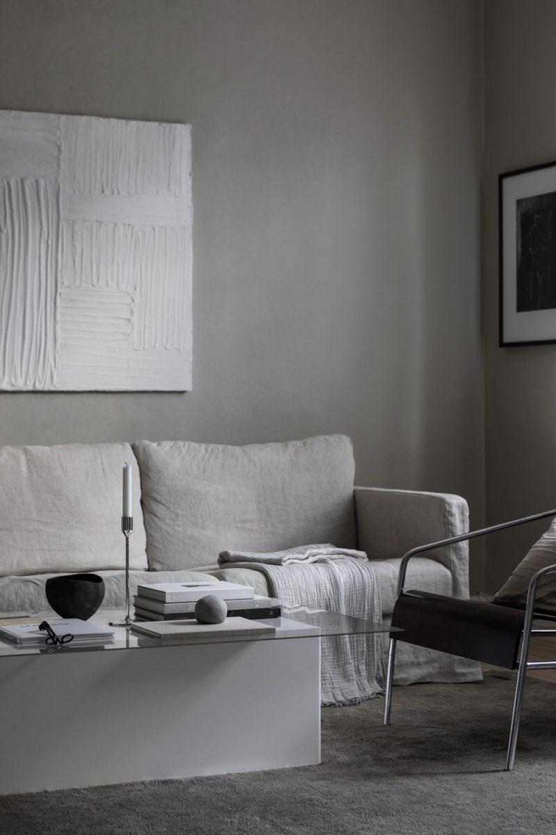 Peek into elin kick n 39 s stylish home nordicdesign for Pintura para apartamentos modernos
