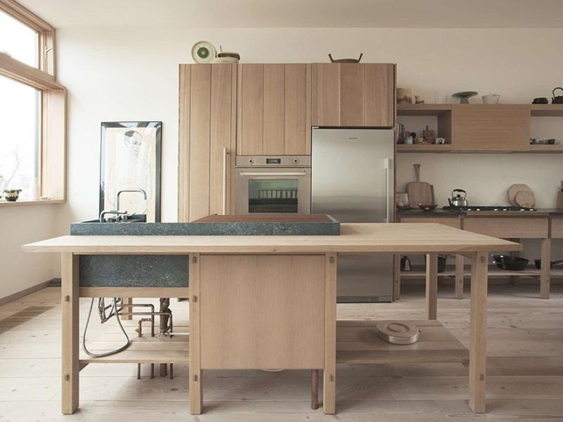 Decor Inspiration Colorful Kitchens That Work: Mjölk Home: A Minimalist Toronto Residence Taking