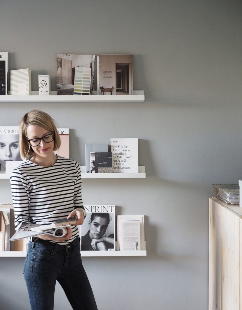 Cate St Hill's Beautiful Home Office with an Inspiring yet Achievable Style