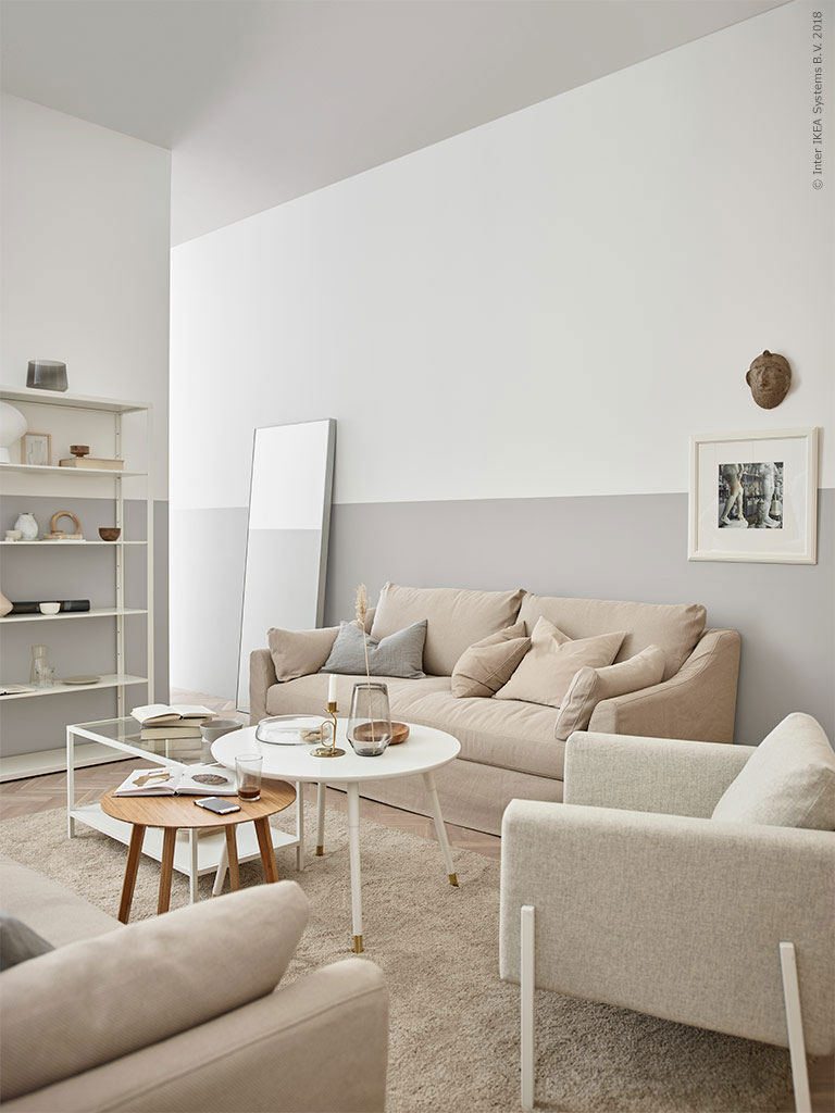 A Swedish Interior Designer\'s Serene Tone-on-Tone Living ...
