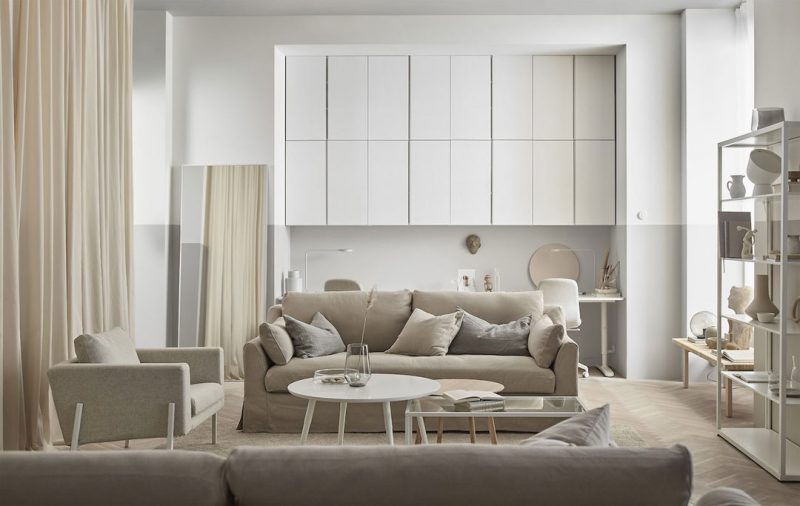 Get the Look: An Affordable, Trendy Tone-on-Tone Interior with IKEA