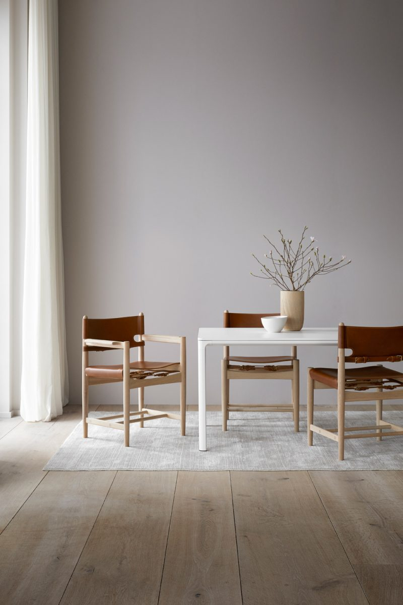 A New Era for a Design Icon: The Famous Spanish Chair now Available for the Dining Table