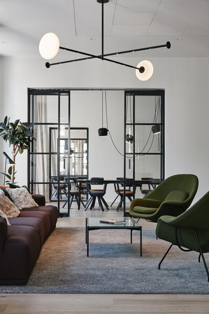 An Inspiring, Stylish and Homelike Workspace in Helsinki by Talented Joanna Laajisto
