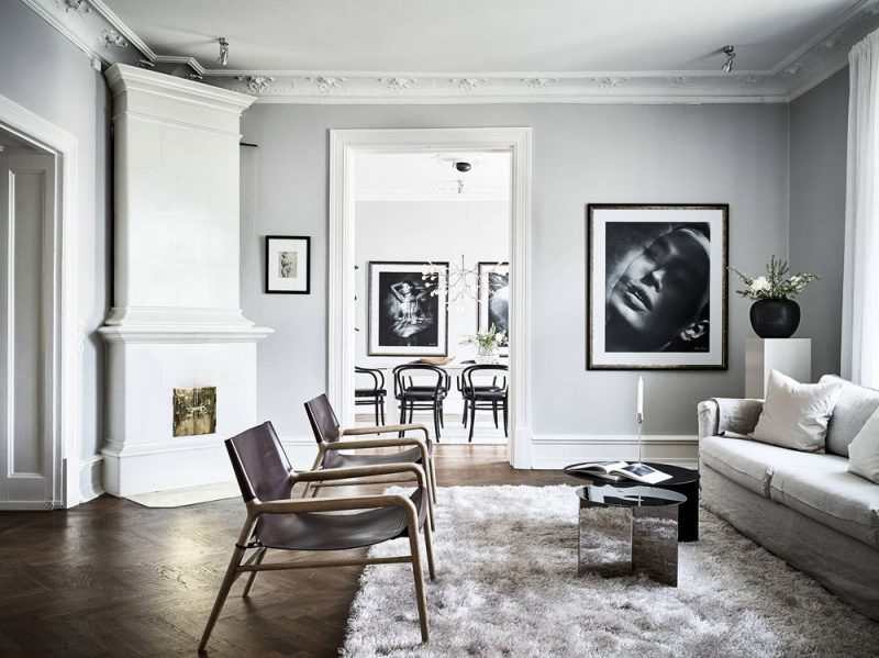 Tour a Classic and Spacious Apartment with Historical Charm in Gothenburg