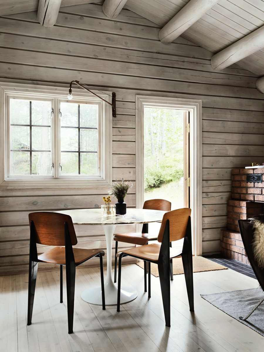 Charming Norwegian Style Log Cabin Packed With Iconic
