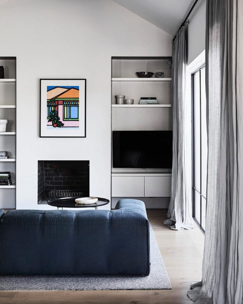 Peek Inside A Refined Interior with a Luxe Mood by Fiona Lynch