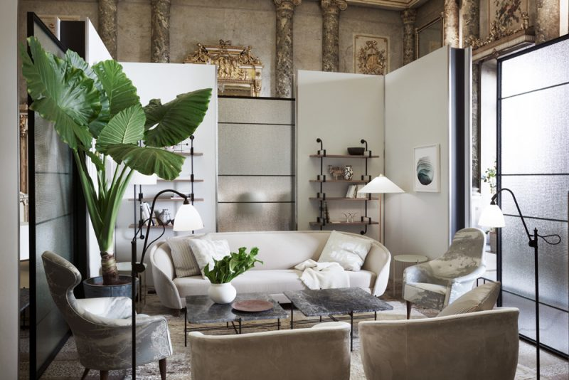 Gubi Goes Italia: A Sumptuous Universe for the Danish Brand in Milan