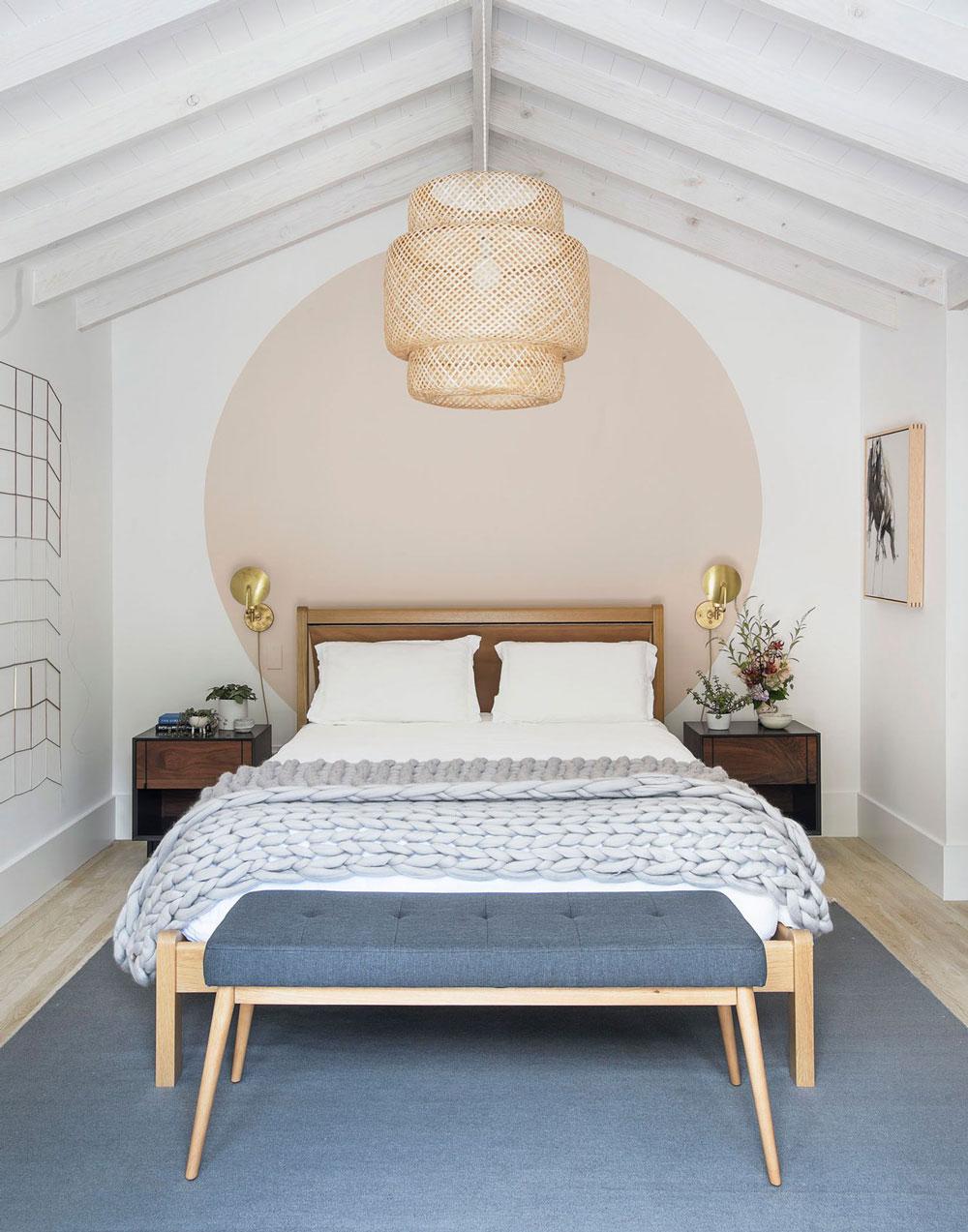 Tour a beautiful scandinavian inspired getaway in the - Scandinavian interior design bedroom ...