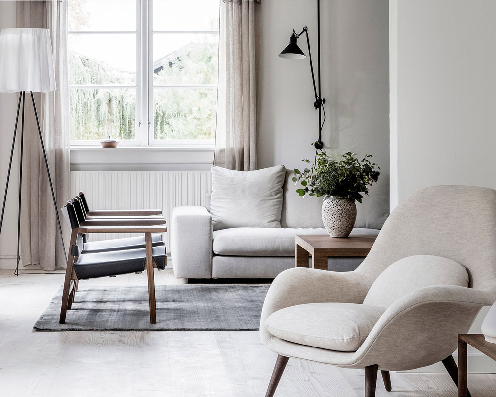 Tour The Sophisticated And Serene Home Of A Danish Design Brand S