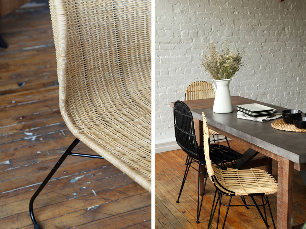 Giveaway: Win a Set of Rattan Chairs and Instant Boho Chic