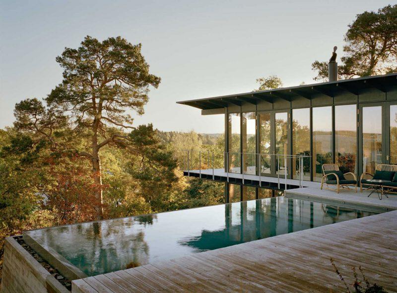 The Dreamy Cabin of Swedish Architect Andreas Martin-Löf