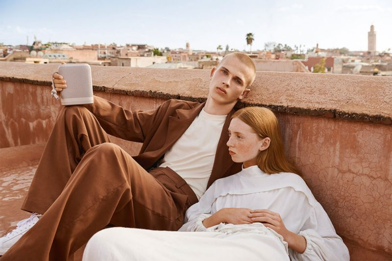 Limestone, Terracotta and Dark Plum for B&O Play's Autumn Winter 2018 Collection