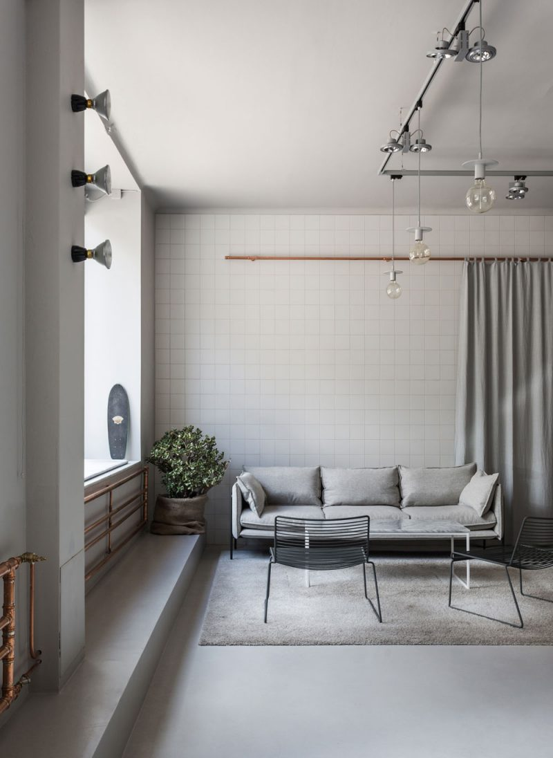 Ideals to Steal From an Office Space Where Industrial Chic Meets Scandinavian Aesthetic