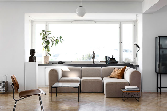 Tour the Beautiful Home of Finnish Interior Stylist and