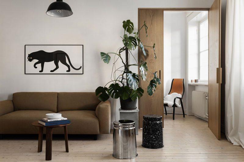 Inside Designer Paul Vaugoyeau's French Nest in Stockholm