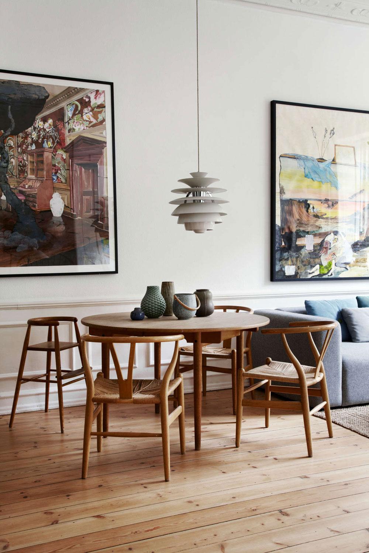 The Beautiful Copenhagen Home Of A Vintage Scandinavian