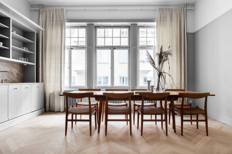 Step Inside a Pared-Down, Minimal and Elegant Apartment in Stockholm