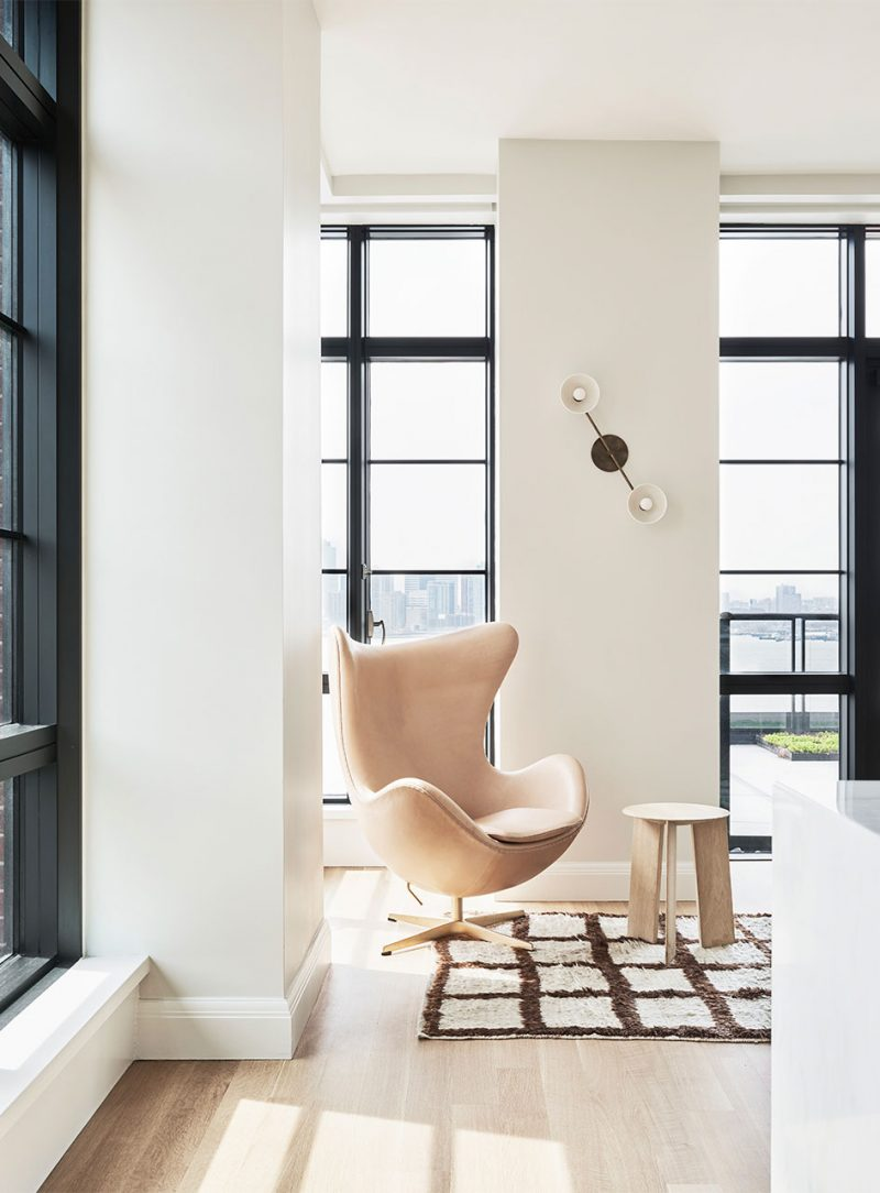 A Beautifully Renovated New York City Apartment with Scandinavian Influence and Personality