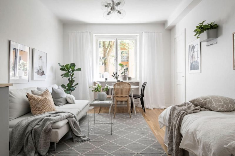 Small Space Roundup: 5 Stylish Studios Under 35 m² / 377 ft²