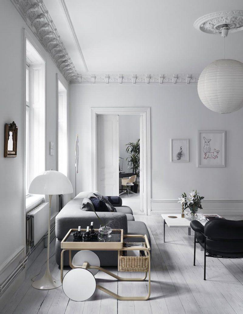 Tour the Classically Scandinavian Home of Fashion Maven Anna Teurnell