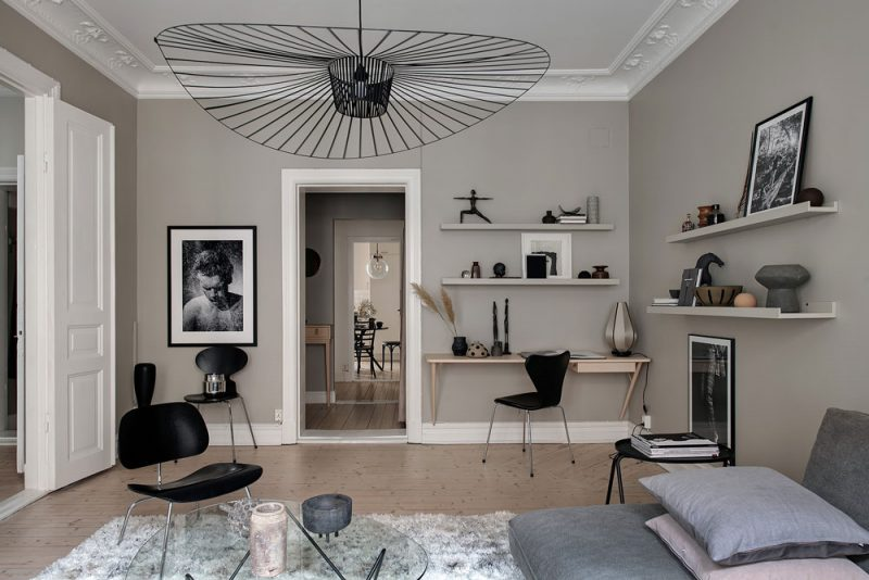 Peek Inside a Pared-Down Swedish Home with a Layered Look