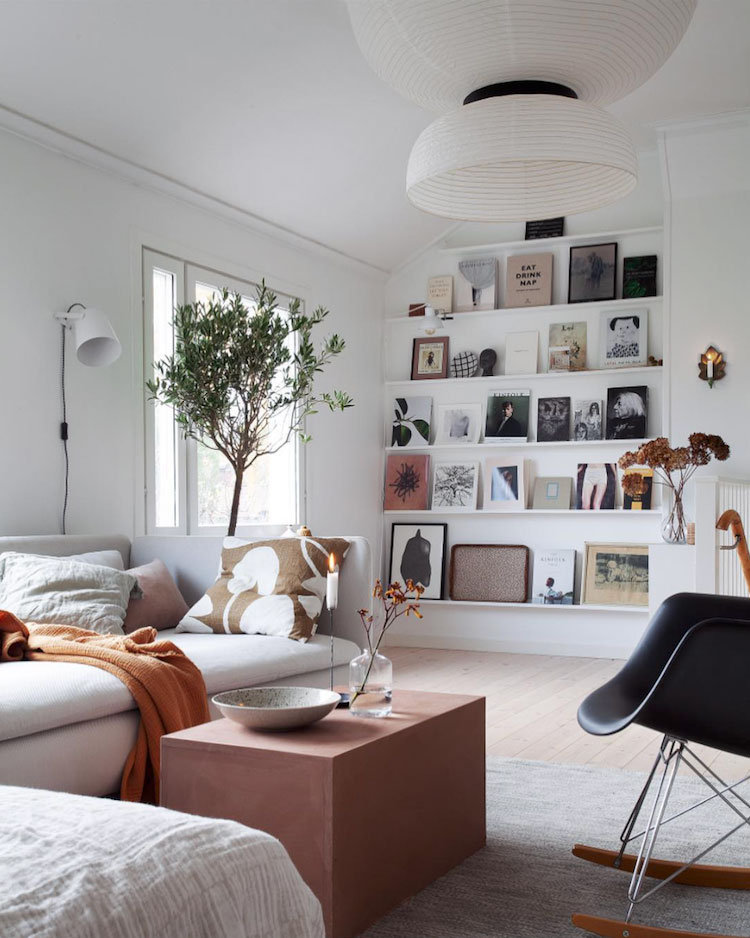 Peek Inside a Cozy Family Home in Stockholm With a Seamless Mix of High and Low Decor