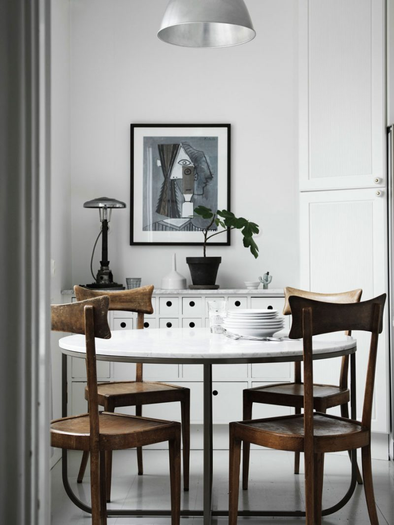 Peek Inside a Beautiful and Serene Eclectic Family Home in Sweden