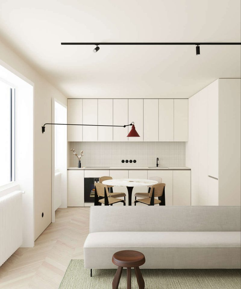 This Modern Scandinavian-Style Apartment is a Lesson in Warm Minimalism