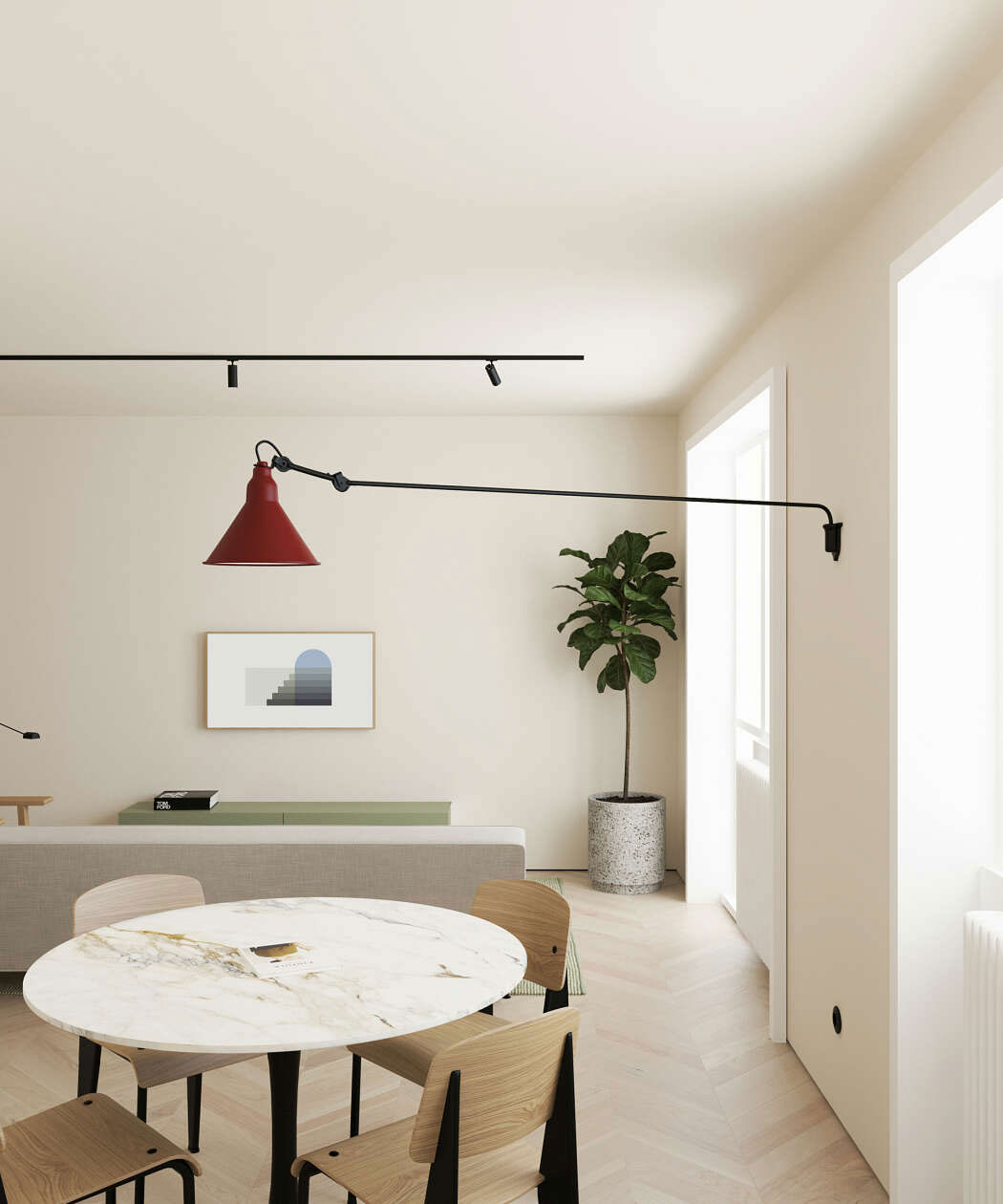 Minimalism Interior Design: This Modern Scandinavian-Style Apartment Is A Lesson In