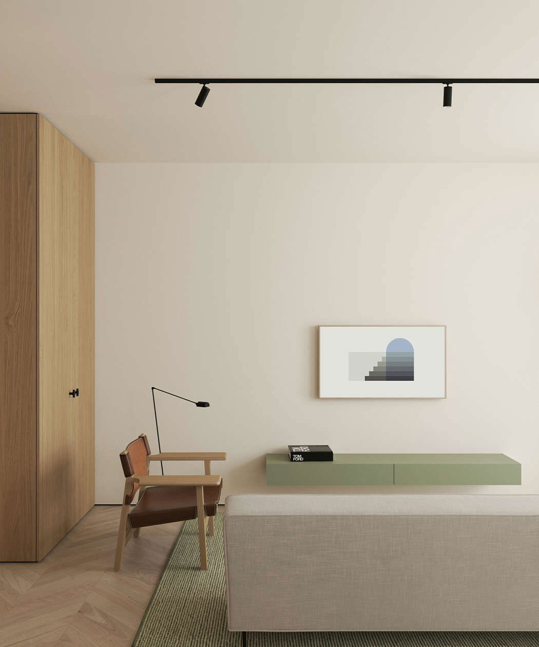 Apartment Living For The Modern Minimalist: This Modern Scandinavian-Style Apartment Is A Lesson In