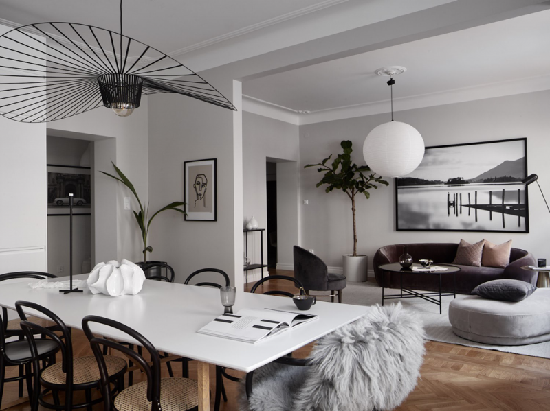 An Elegant Stockholm Apartment and a Few Ideas to Steal for an Effortlessly Chic Look