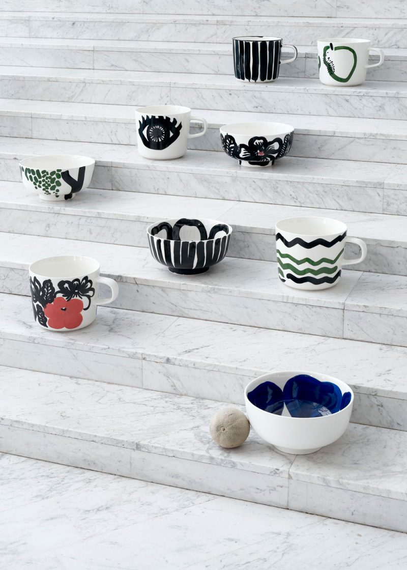 Marimekko Launches Anniversary Edition with Hand-Painted Collectibles