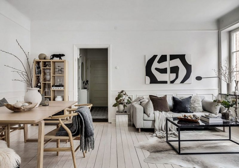 This Scandinavian Apartment is a Great Example of Understated Elegance