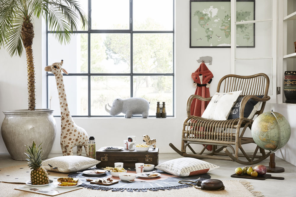 Playful Safari-Themed Designs For HM Home's Latest Kids