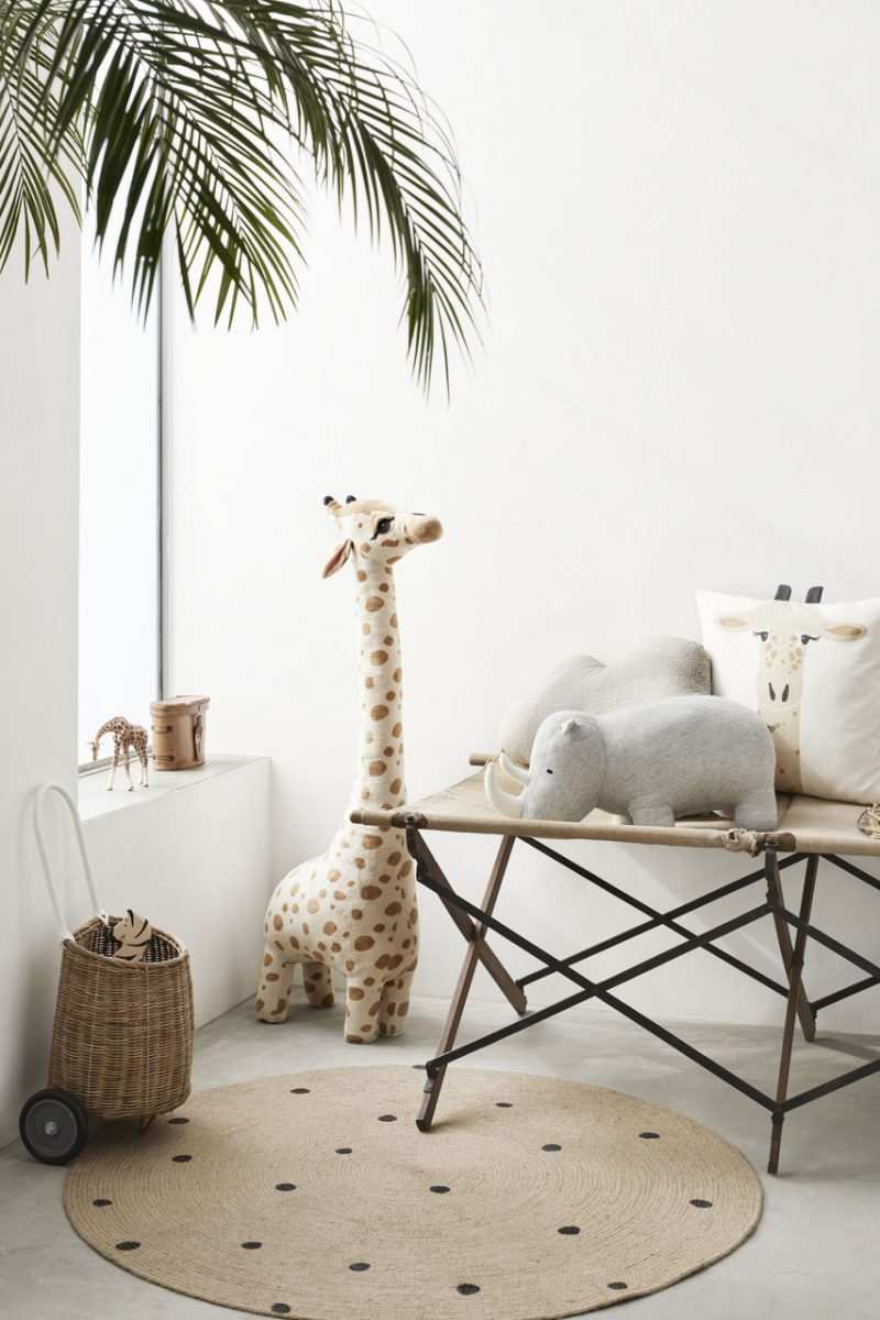 Playful Safari-Themed Designs for HM Home's Latest Kids Collection