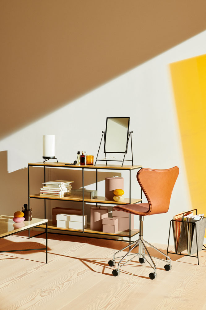 Five Products Relaunched by Danish Brand Fritz Hansen You Need to See