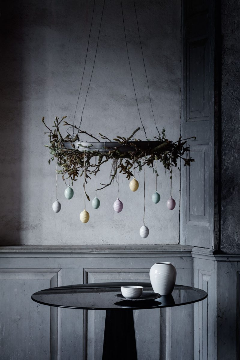 Moody, Elegant and Minimal Easter Inspiration from Danish Brand Lyngby Porcelain