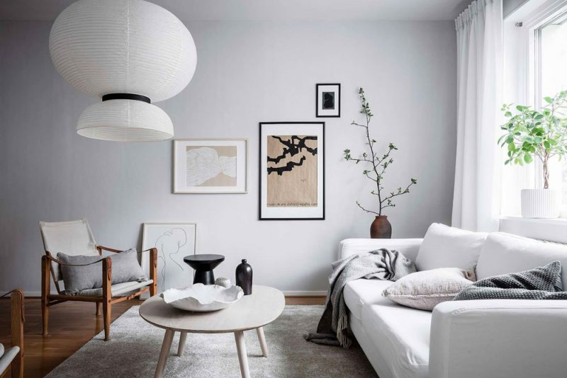 Tour a Serene and Light-Filled Apartment in Sweden