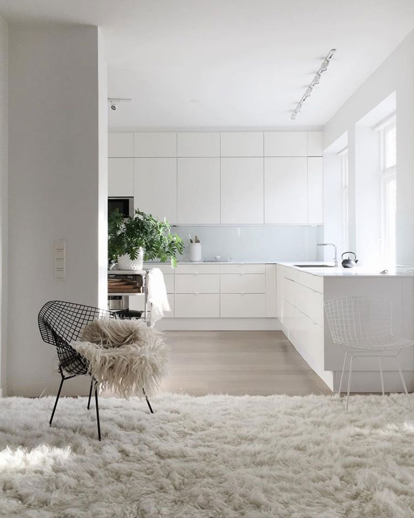 This is How to Create a Beautiful All-White Interior - Nordic Design