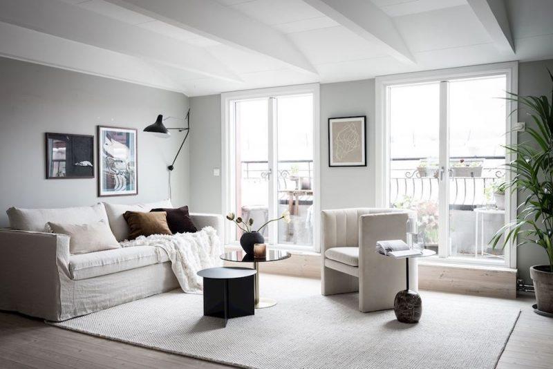 Peek Inside a Serene Scandinavian Apartment + A Few Styling Principles