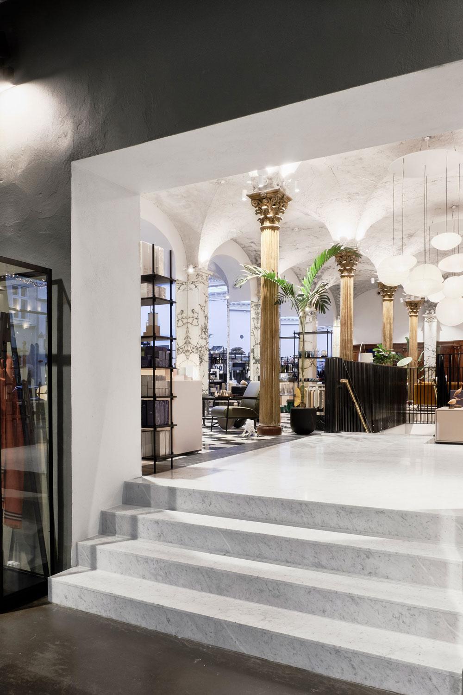 Cocoon Design Bank.Paustian Transforms 19th Century Bank Into Stunning Copenhagen