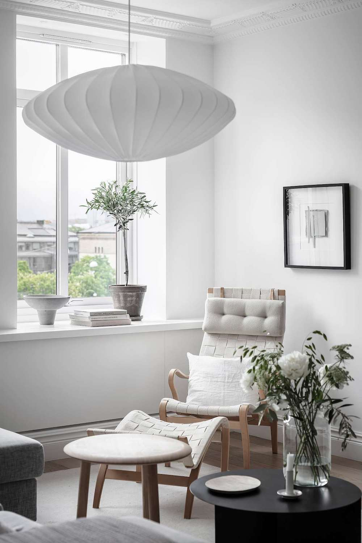 Tour a Calm, Composed and Bright Scandinavian Home