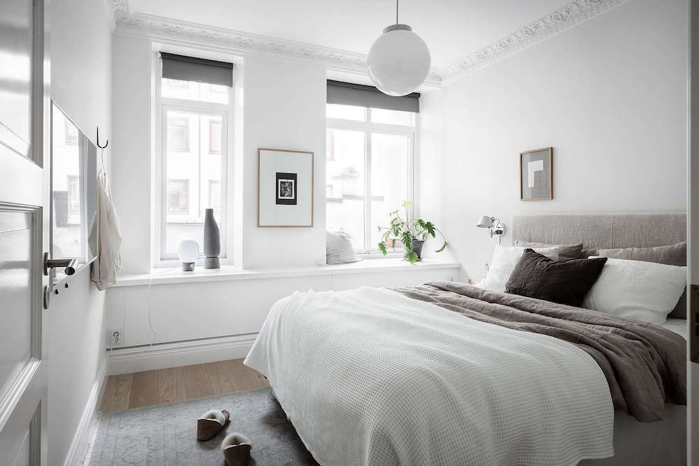 Tour A Calm Composed And Bright Scandinavian Home