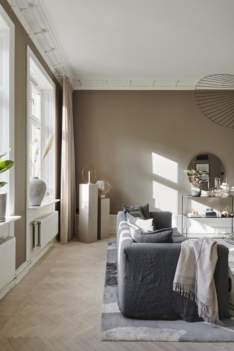 Tour a Spacious Stockholm Apartment with a Luxurious Look